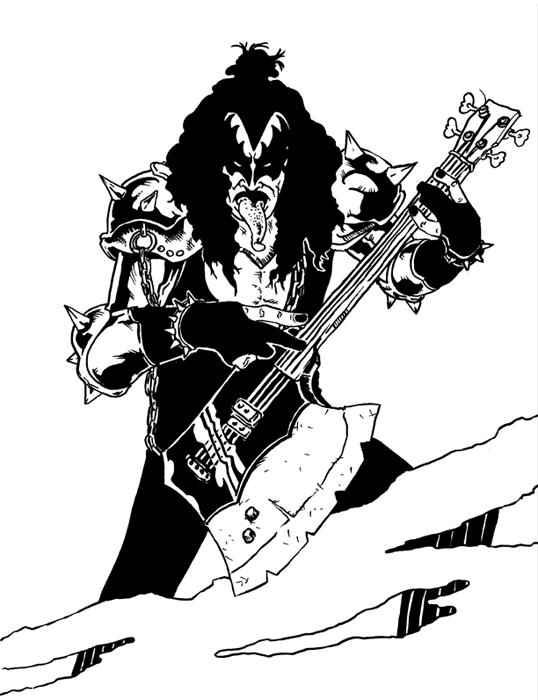 Gene Simmons Art
