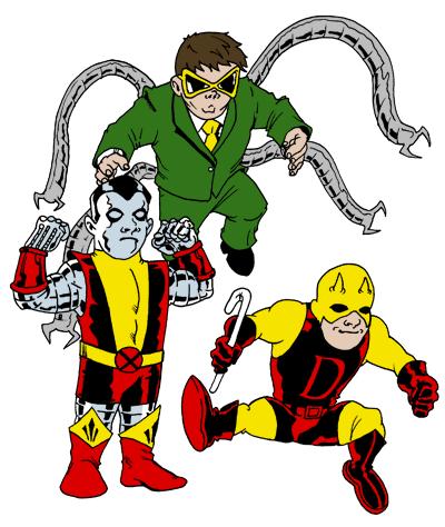 076 – Marvel Kids