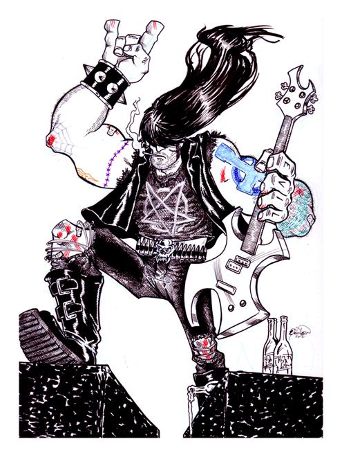 Greasy Metalhead