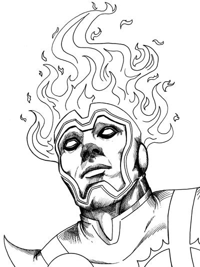 233 – Firestorm Portrait