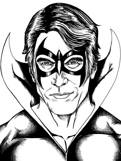 234 – Nightwing Portrait