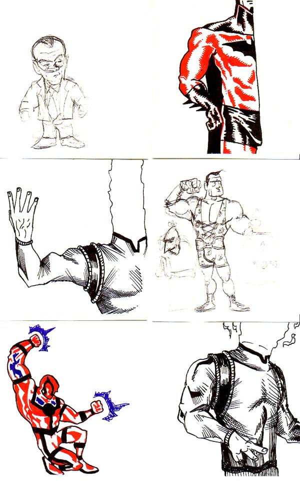 Work Doodles Shonborn S Art Blog