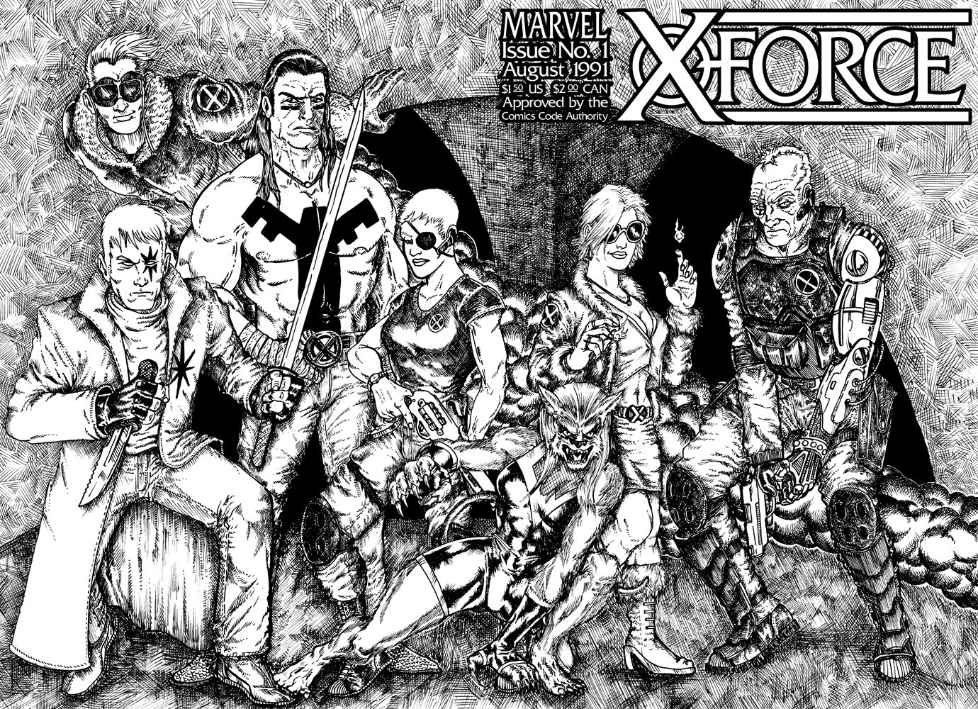 Covered: X-Force #1