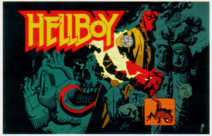 Hellboy Postcard!
