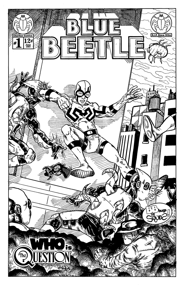 1371. Blue Beetle #1